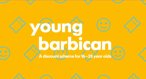 Sponsor the Barbican's discounted ticket scheme for young people