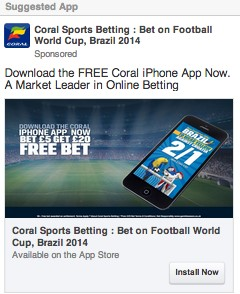 CASE STUDY: Coral 2014 World Cup Betting App