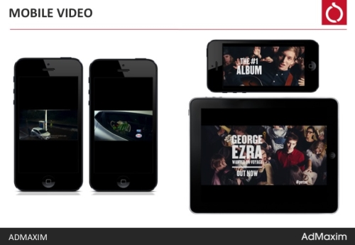 Capitalise on increased viewing times of mobile video
