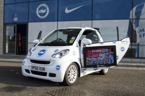 Advertising Solutions with Digital Out of Home Smart Cars