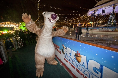 CASE STUDY: Hyde Park Winter Wonderland Ice Rink meets Ice Age 4