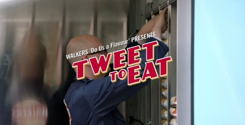 CASE STUDY 'Tweet to Eat' OOH campaign for Walkers Crisps