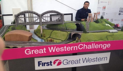 CASE STUDY: First Great Western create Scalextric tour of UK