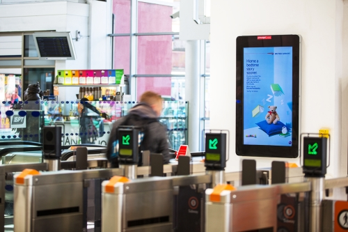 Reach subway users in Scotland's largest city with Primesight