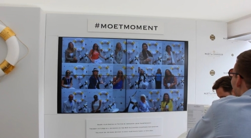 CASE STUDY: Social Wall at the Aegon Championships 2015.