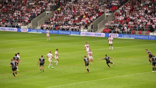 Advertise at Live Rugby League Games with digiBOARD.TV