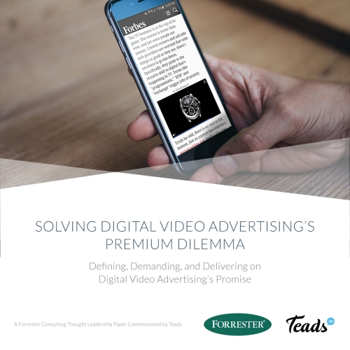 RESEARCH: Solving digital video's premium dilemma