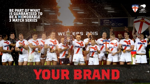 Rugby Sponsorship Opportunities - England v New Zealand Series