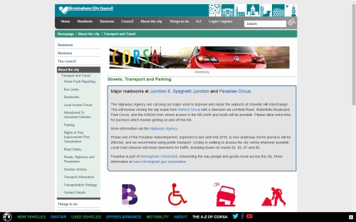 Advertise to Vehicle owners on .gov.uk