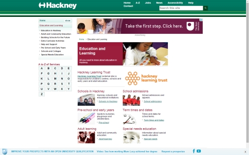 Advertise to Parents of Students on .gov.uk