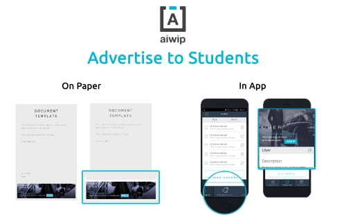 Advertise on the first 200,000 print outs at Universities