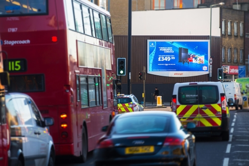 Drive sales this Christmas with Primesight's digital panels.