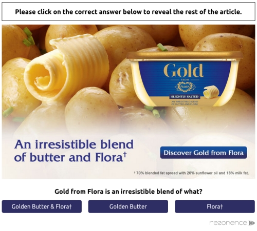 CASE STUDY: Cut through the noise with 86% brand recall rate
