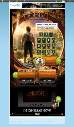 CASE STUDY: Promoting the release of the Hobbit