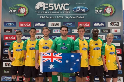 Sponsorship Opportunities at the Football 5-a-side World Cup