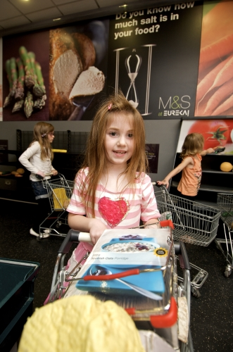 Mini fully immersive retail brand experience for children 3-11