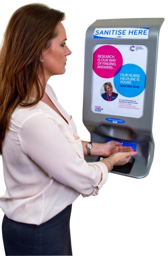 Integrating Hand hygiene with Advertising Possibilities