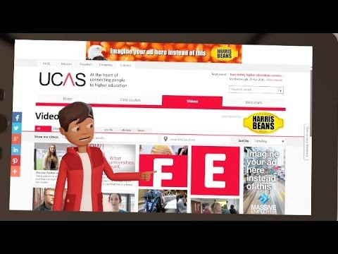 Reach a youth audience with your visual content- UCAS video wall