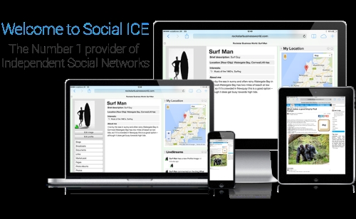 Social Ice; No.1 provider of independent social networks