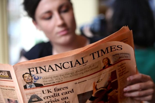 Advertise in the Financial Times
