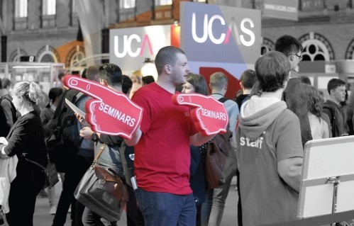 Sponsor the Tech Zone at UCAS exhibitions 2016