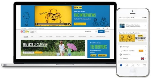 CASE STUDY: UKTV launch 'The Interviews' to eBay users