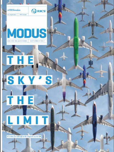 Advertise with Modus, the official magazine of RICS