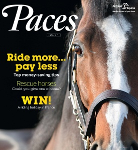 Advertising opportunities with Paces from Petplan Equine