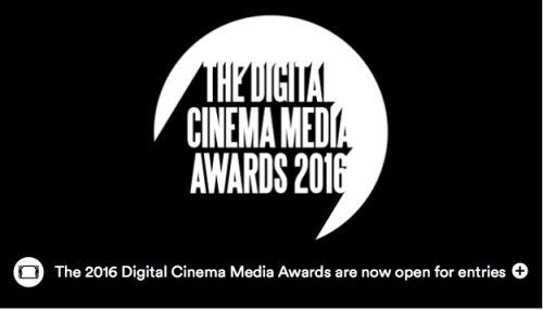 Entries Now Open For The Digital Cinema Media Awards 2016