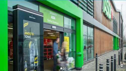 Point of Sale Digital 6 sheets at Asda stores across the UK