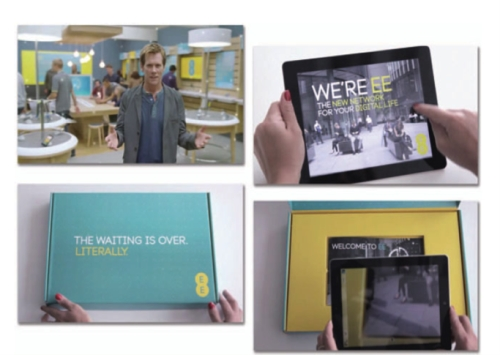 EE used DM as part of an integrated campaign to launch 4G