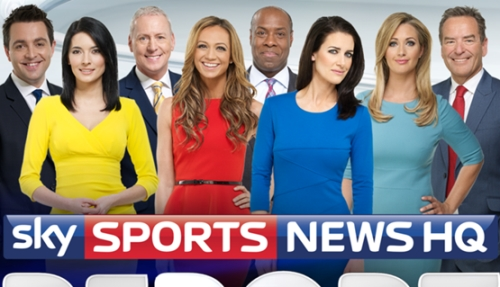 Sky Sports News at Five & Six Sponsorship on Sky Sports News HQ