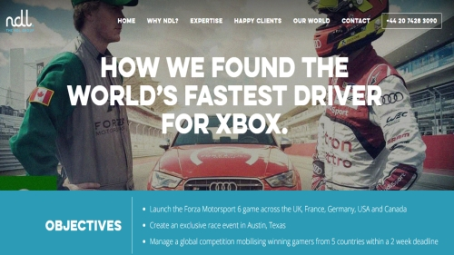 CASE STUDY: How NDL found the world's fastest driver for XBOX