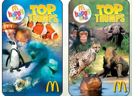 CASE STUDY: McDonald's Gift Top Trumps with Happy Meals