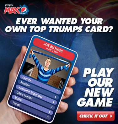 Top Trumps digital advertising opportunities