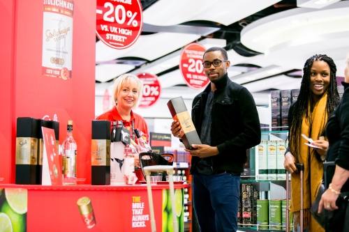 CASE STUDY: Stoli Mule sampling at Gatwick