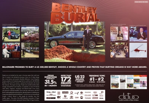 CASE STUDY Leo Burnett create 'Bentley Burial' campaign for ATBO
