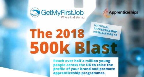 Partner with GetMyFirstJob during National Apprenticeship Week
