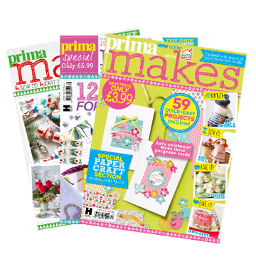 Advertise in Prima Makes: Craft
