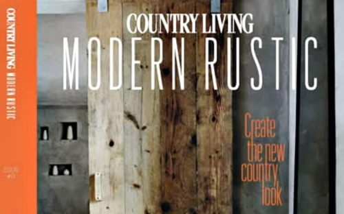 Advertise in Country Living Modern Rustic