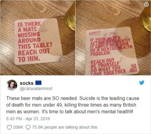 CASE STUDY: Time to Change Beer Mat Campaign goes Viral