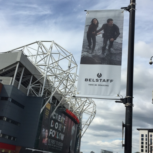 Advertising Gold at Man United's 'Theatre of Dreams' Stadium