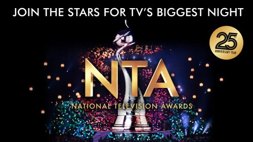 Sponsorship of the 25th National Television Awards 2020