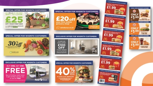 Advertising with WHSmith: Colour Vouchers