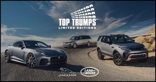 CASE STUDY: Jaguar Land Rover Top Trumps Mobile App