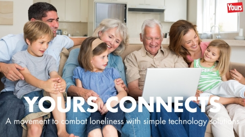 Target the Untapped Senior Audience with YOURS CONNECTS