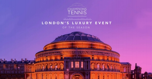 Partnership Opportunity Champions Tennis @ the Royal Albert Hall