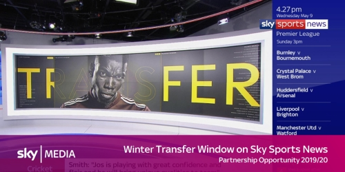 Sponsorship of The Transfer Window on Sky Sports News