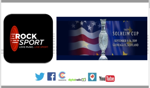Sponsor Solheim Cup 2019 Coverage on Rock Sport Radio Scotland