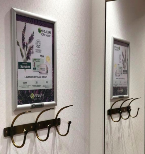 CASE STUDY: Eco-Friendly Sampling & Fitting Room Poster Campaign